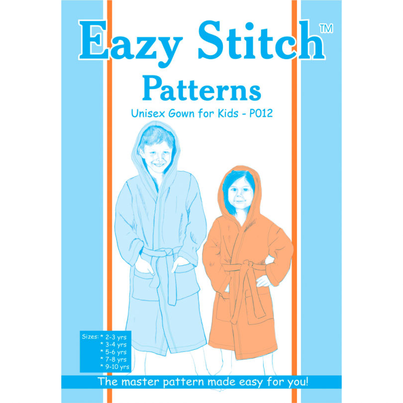 Kids Gown Pattern - EazyStitch Patterns