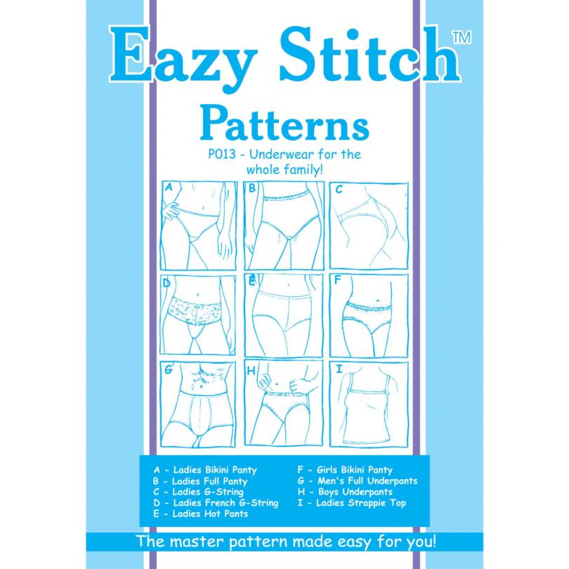 Combo Underwear Pattern Family Pack
