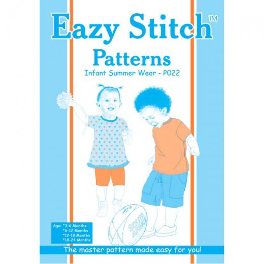 Baby Summer Wear Sewing Pattern