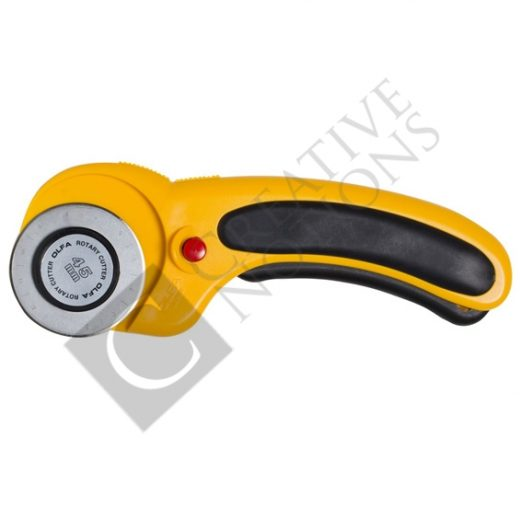 45mm Rotary Cutter - Olfa Deluxe Handle Rotary Cutter