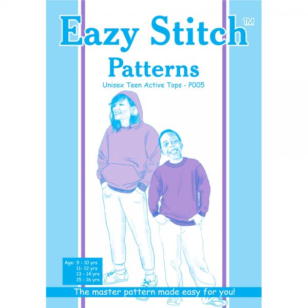 Unisex Tween & Teen Sweater Sewing Pattern