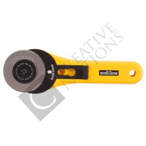 60mm Rotary Cutter - Olfa 60mm Straight Handle Rotary Cutter