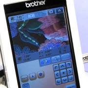 Brother PR-1000 Embroidery Machine Touch Screen