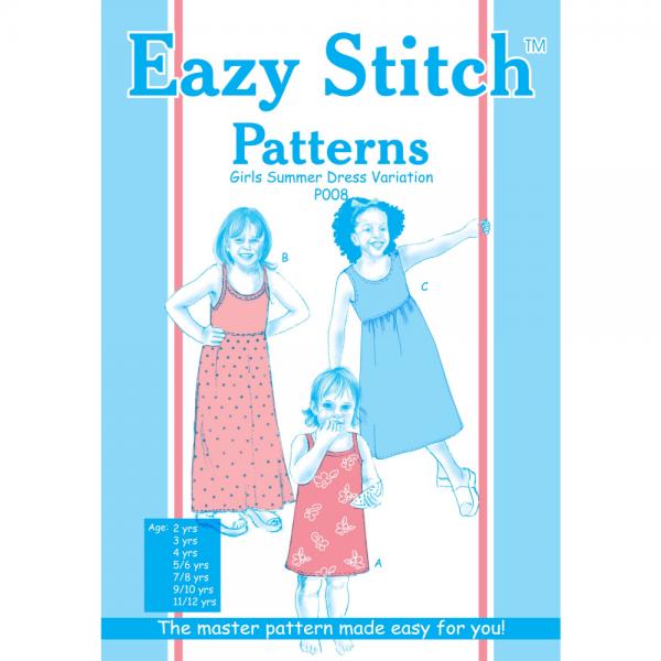 Summer Dress Pattern for Girls