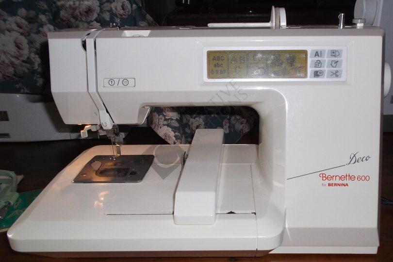 600 embroidery machine