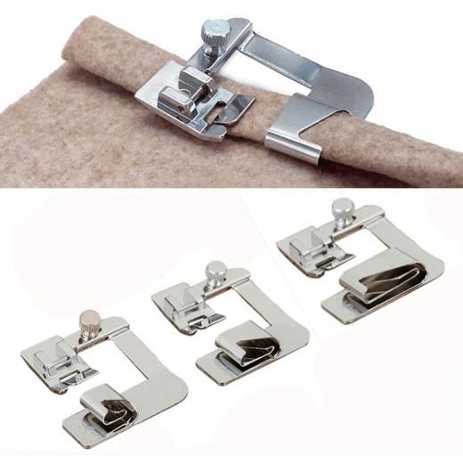 Bias Tape & Wide Hem Presser Foot Kit 2