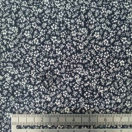 Black & White Small Flower 569-14