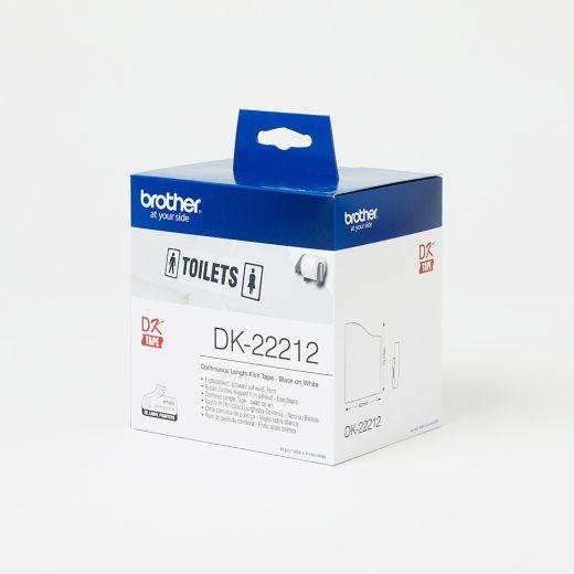 Brother DK22112 White Custom Vinyl Stickers (62mm)