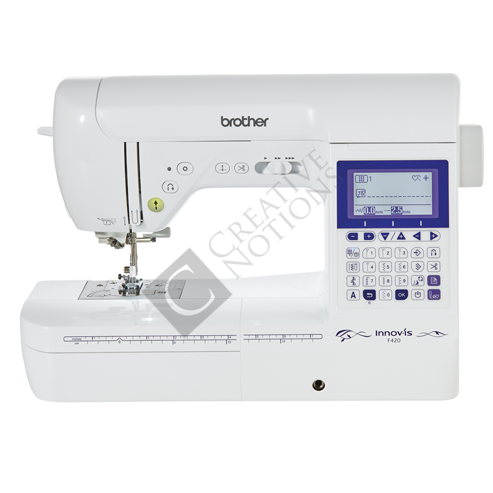 buy the brother innov is f420 sewing machine online. Black Bedroom Furniture Sets. Home Design Ideas