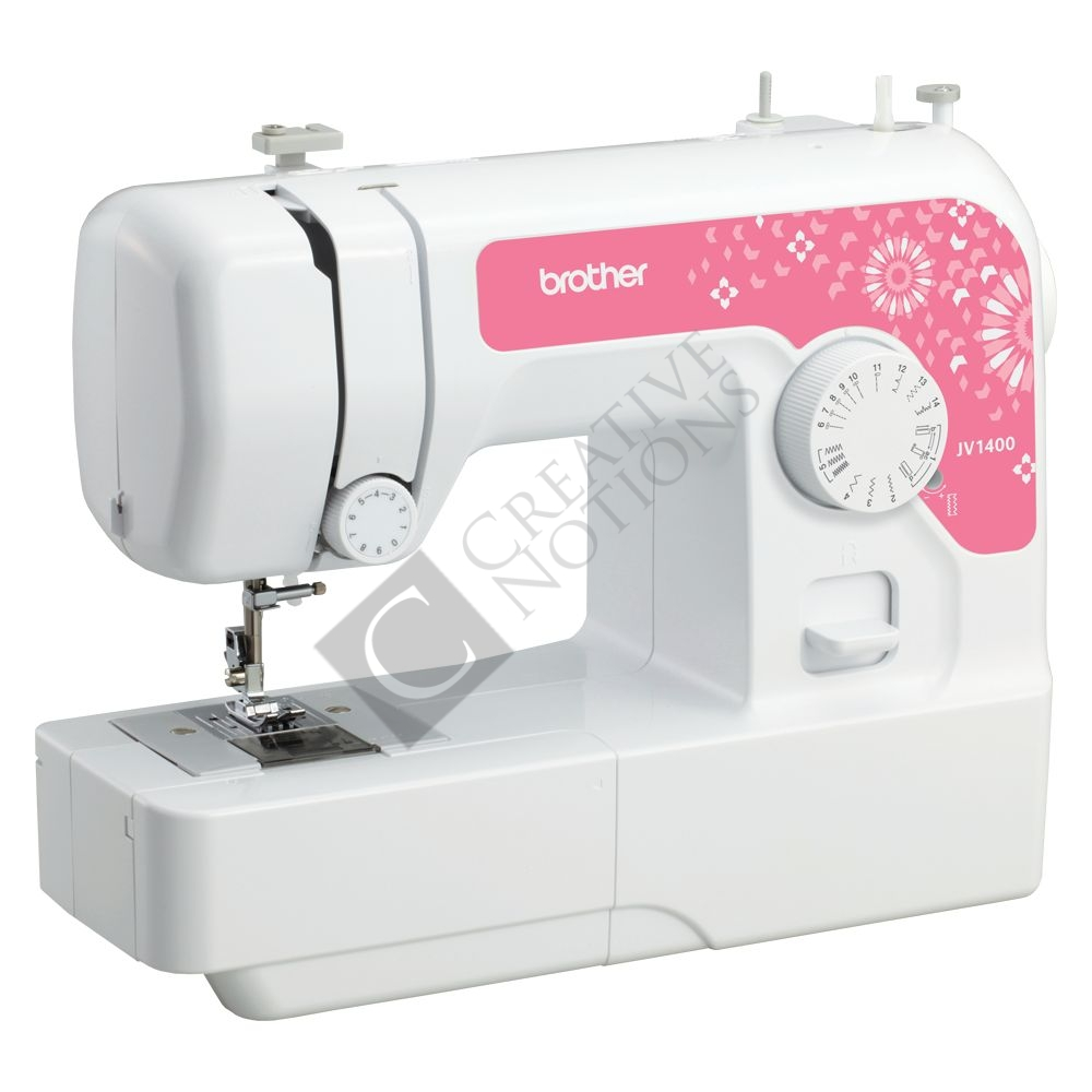 Brother JA1400 Sewing Machine (Pink)