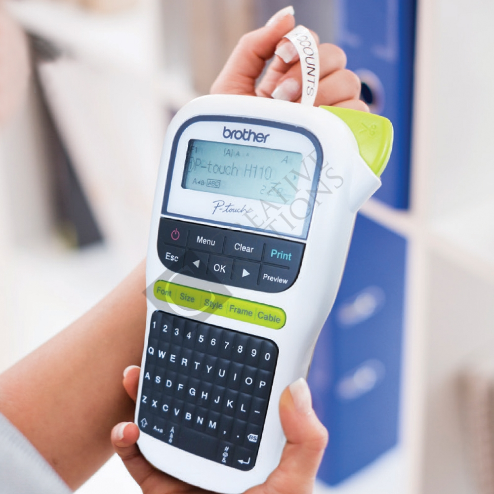 Brother P Touch 110 Handheld Label Maker: Brother P-Touch H-110 Labelling