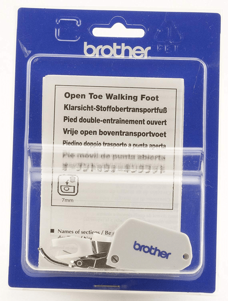 Brother Open Toe Walking Foot - F062