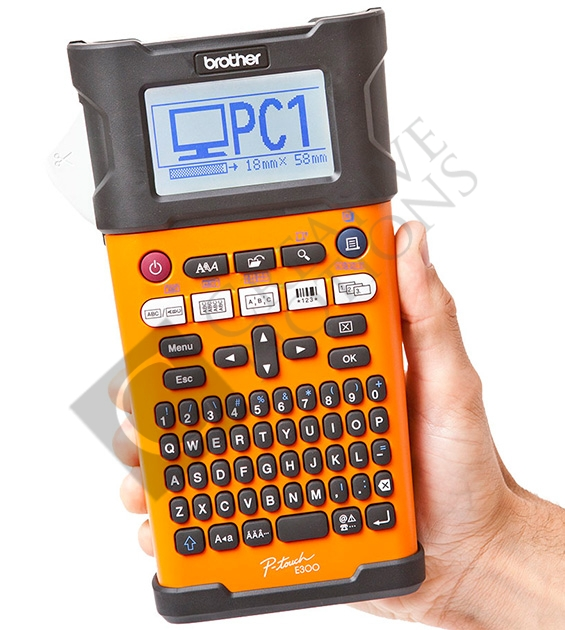 brother p touch label maker label makers amp supplies p touch e300vp label 28719