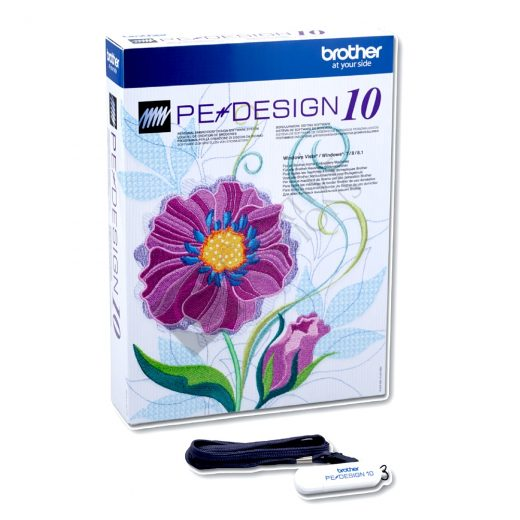 Brother PE Design 10 Digitizing Embroidery Software
