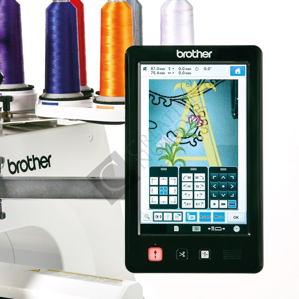 Buy the brother pr needle embroidery machine online