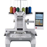 Brother 6 Needle PR-655c Embroidery Machine