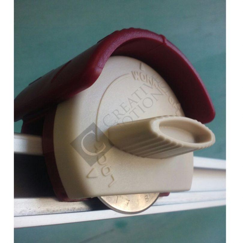 Cutter Ruler rotary blade safery lock