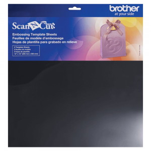 Brother ScanNCut Embossing Template Sheet