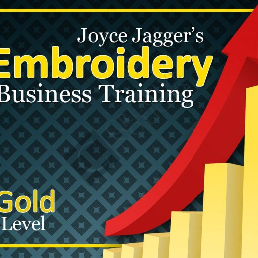 Embroidery Business Training Gold Level