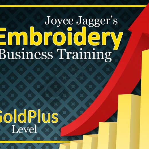 Embroidery Business Training Gold Plus Level