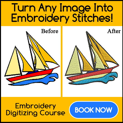 Embroidery Digitizing Course