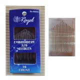 Hand Embroidery Needles - Royal 3/9 (16 count)