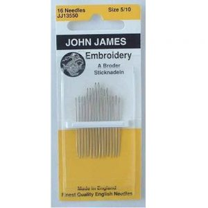Embroidery Needles 5-10 - John James