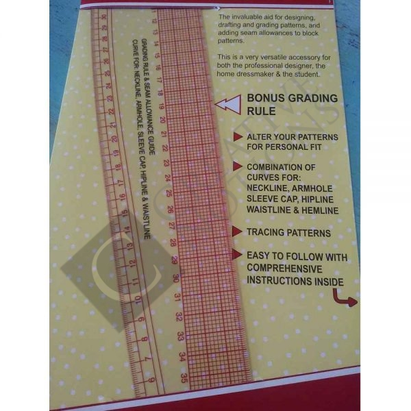 French Curve Ruler grading rule
