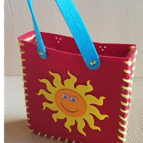 Girls Craft set Sun Handbag