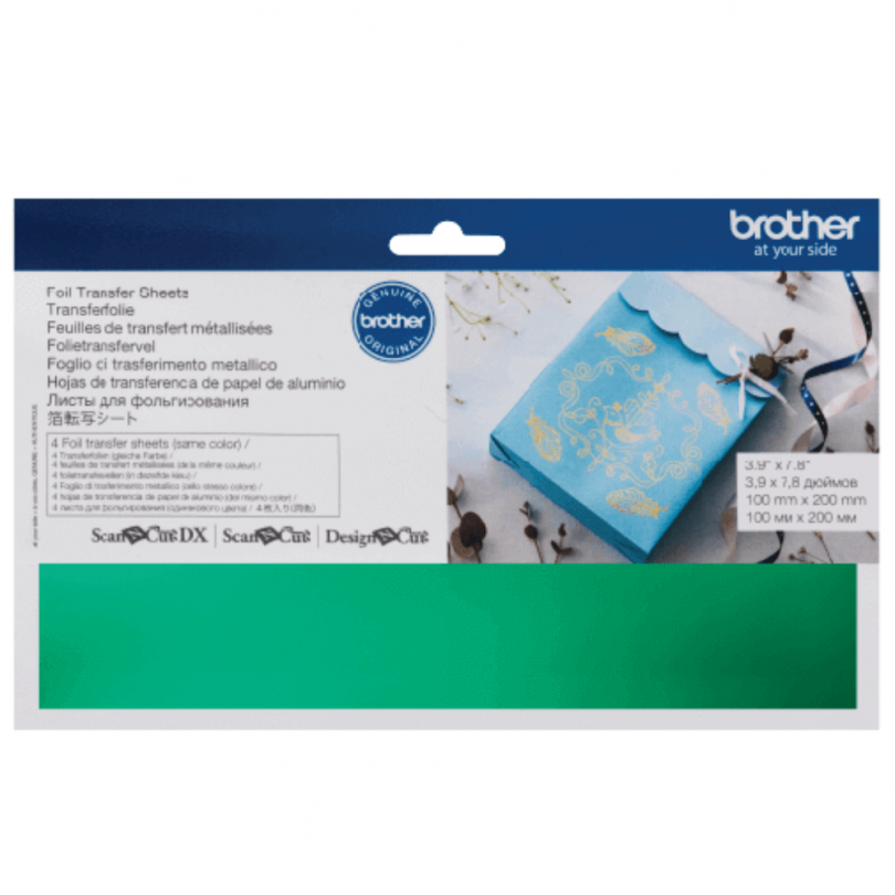 Green Foil Transfer Sheets