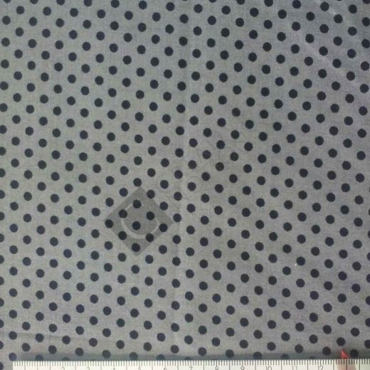 Grey Black Dots 7825-57