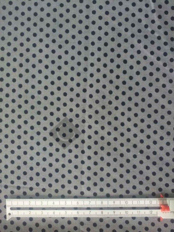 Grey Black Dots 7825-57