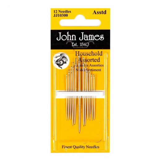 Hand Sewing Needles - Household Assorted JJ