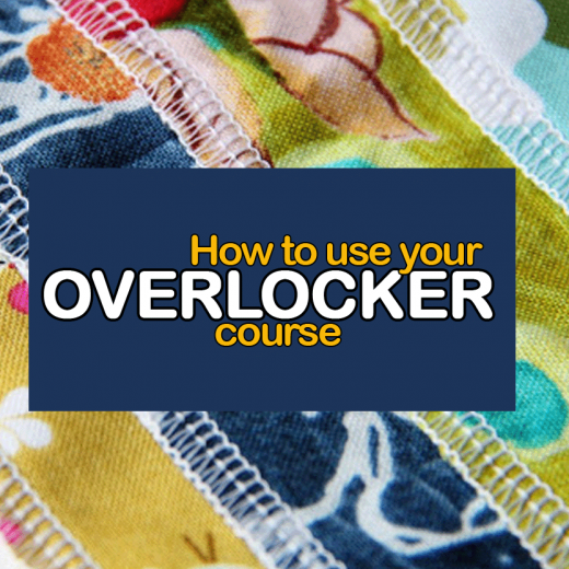 How to use an overlocker