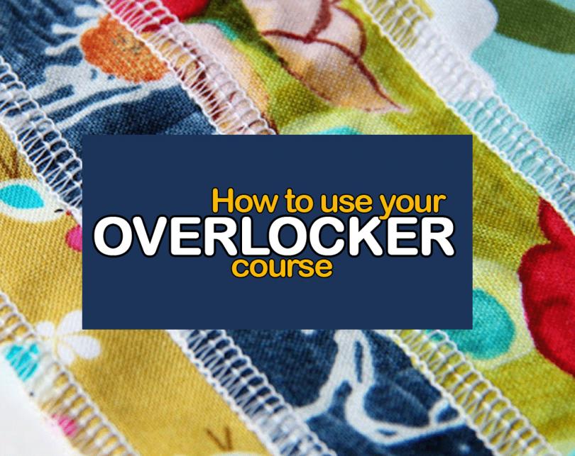 How to use an overlocker