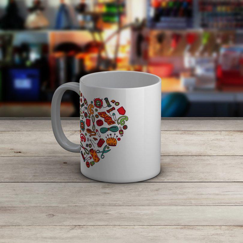 Sewing Mug - I Just Want To Sew