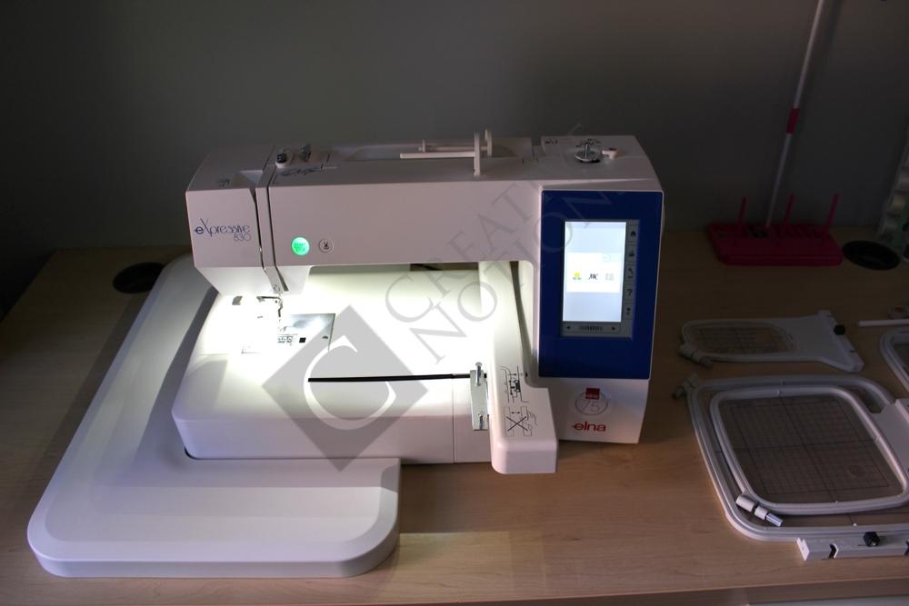 Elna 8300 Expressive Embroidery Machine Creativenotions Co Za