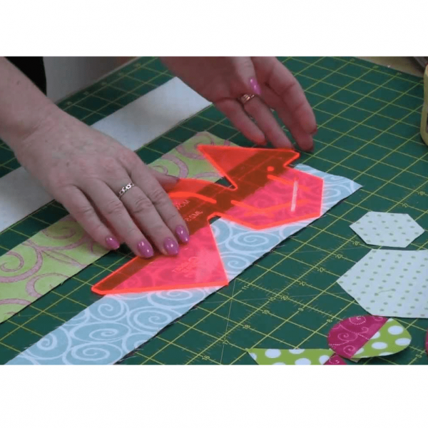 Sew Easy Jelly Pointer Template for Jelly Roll Patterns