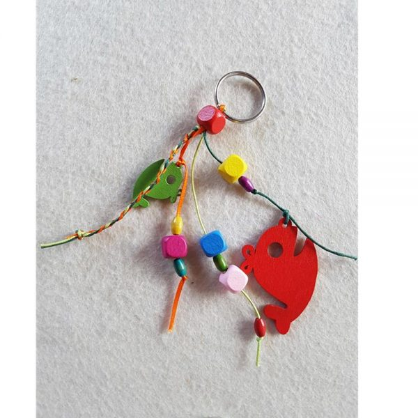 Buy Kids Crafts Online: DIY Dolphin Keyring