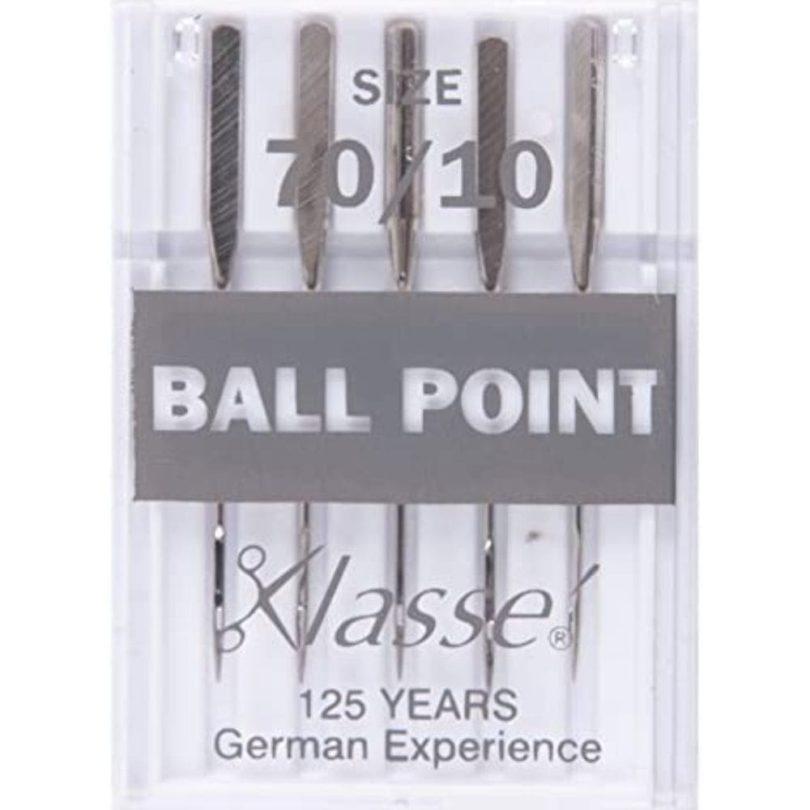 Klasse Ballpoint Needles For Sewing Machines 70/10