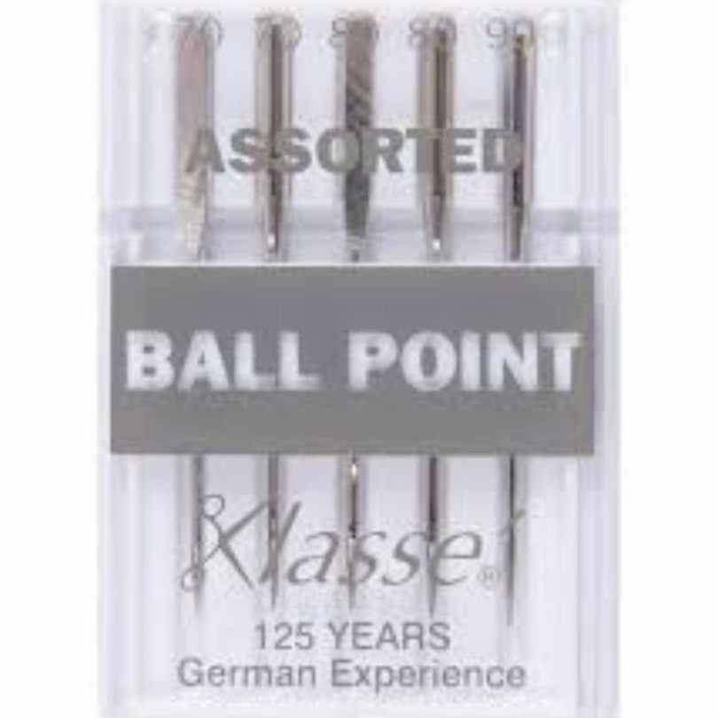 Klasse Ballpoint Needles For Sewing Machines Assorted
