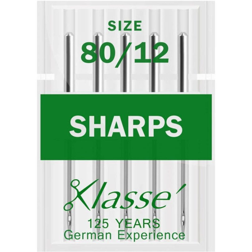 Klasse Sharps Needles 80/12