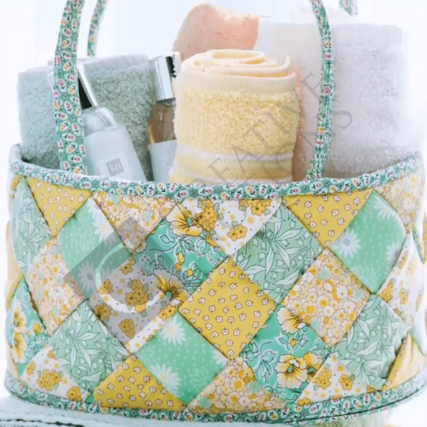 Learn to Sew & Weave a Fabric Basket