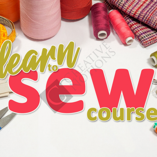 Sewing Classes - Learn To Sew Course