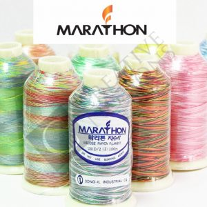 Marathon Rayon Varigated Embroidery Threads