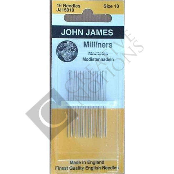 Milliners/Straw Needles 10 - John James