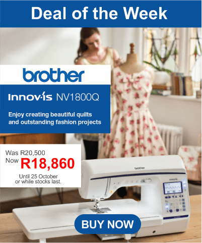Brother NV1800Q Sewing Machine Sale - Oct 2019