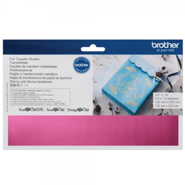 Pink Foil Transfer Sheets