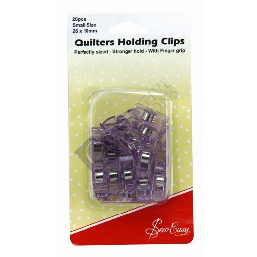 Quilters Holding Clips (26 x 10mm) 20pcs