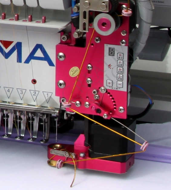 ri a embroidery machine rcm 1501 tc 7s single head 15